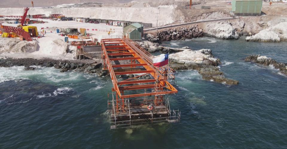 Construcción y Montaje – Proyecto Reconstrucción Terminal 1 Puerto Patillos