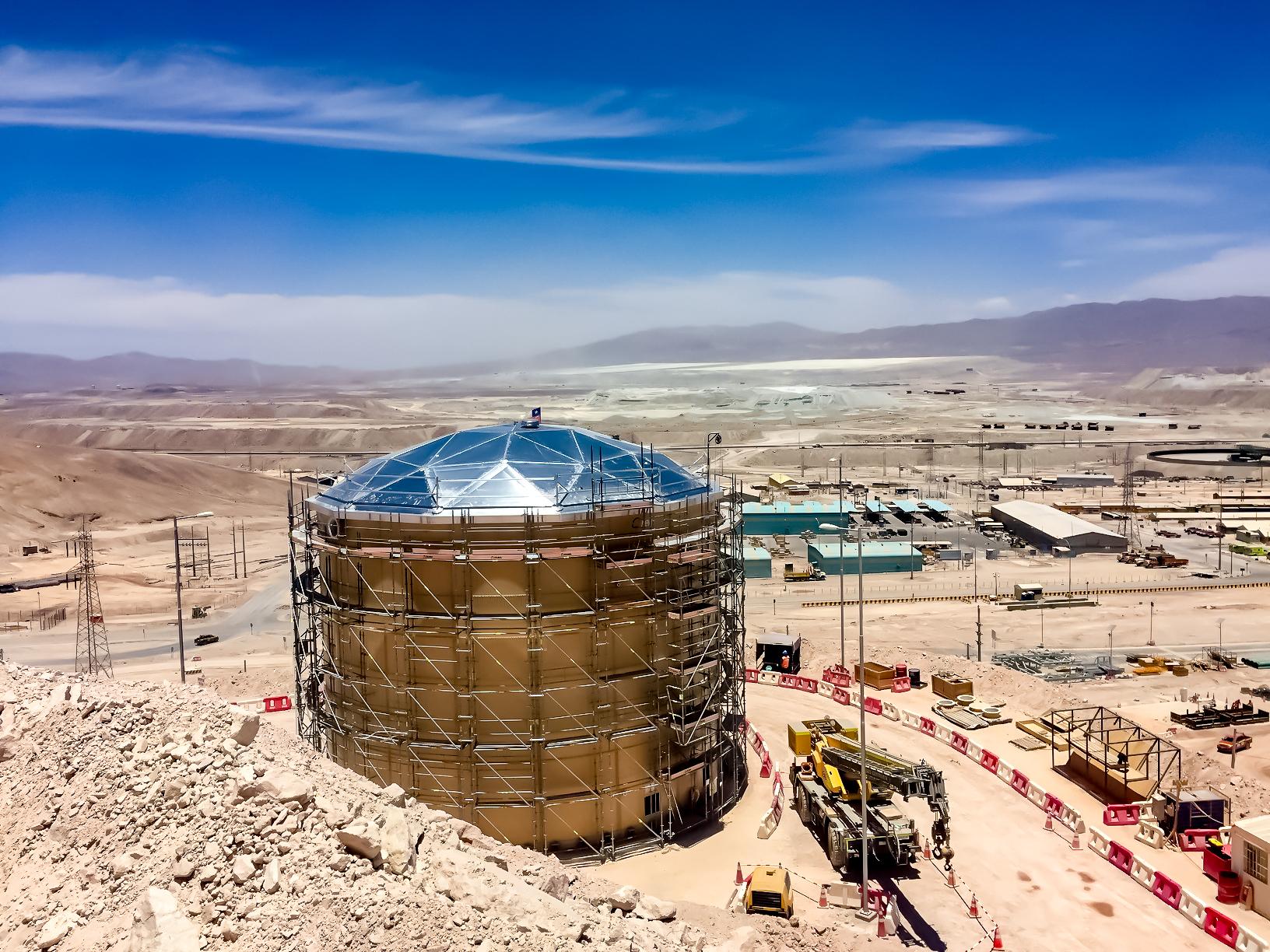 Water Tanks & Distribution Los Colorados Project