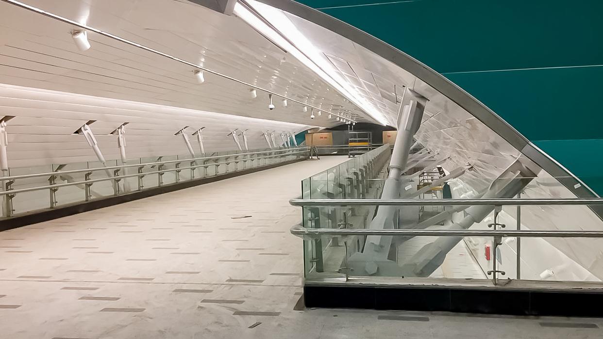 Obras Civiles Estaciones Línea 3