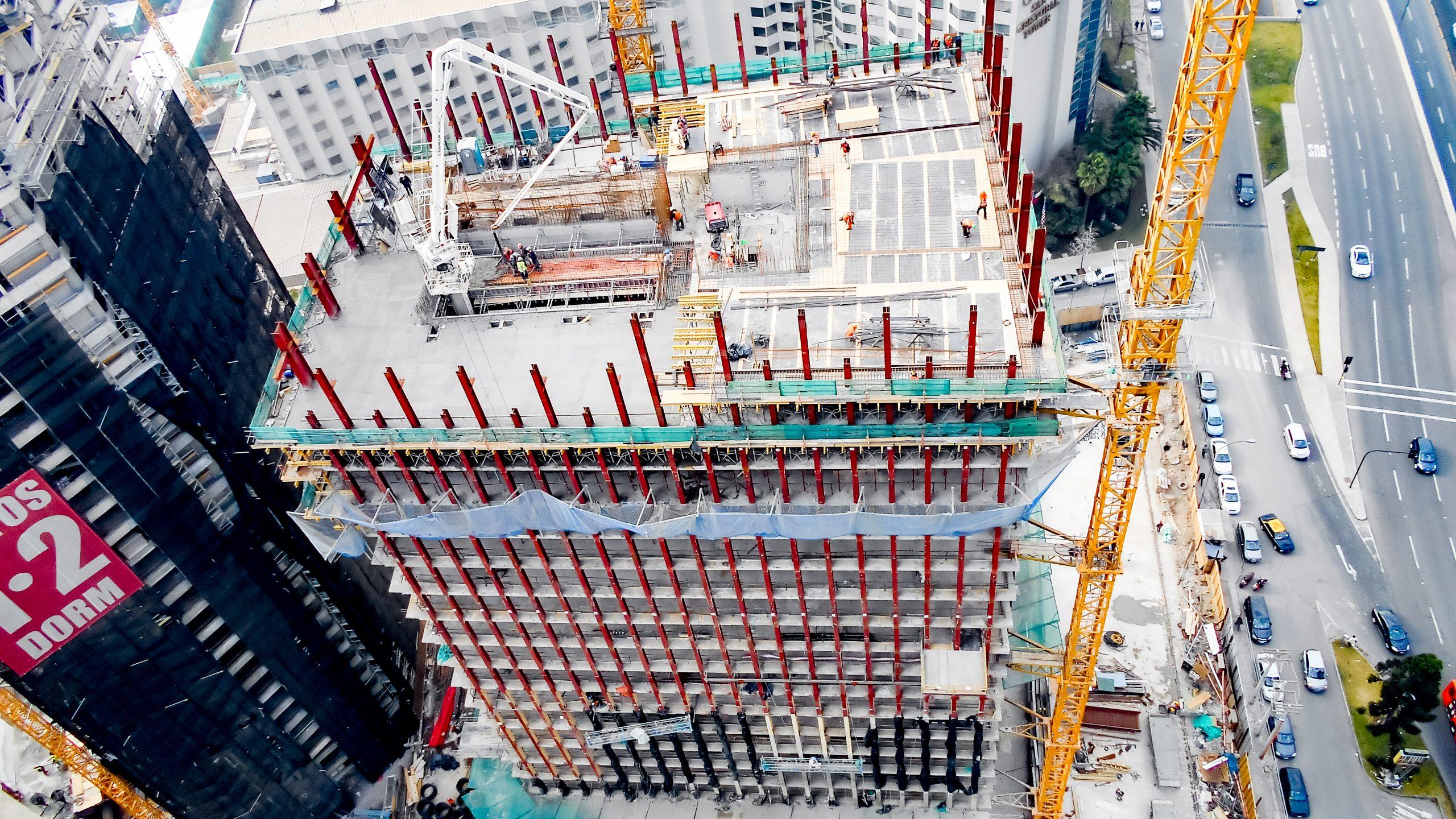 Montaje Estructura Metálica Nueva Torre Santa María